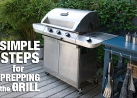 Prepping the Grill for Summer