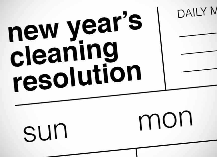 New Year's Cleaning Resolution
