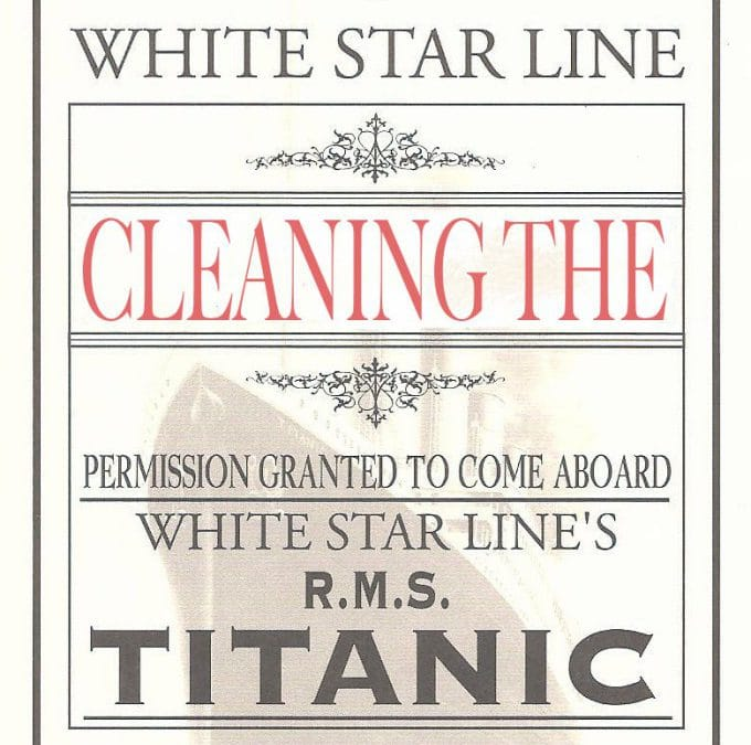 Cleaning the Titanic: An Enormous Task