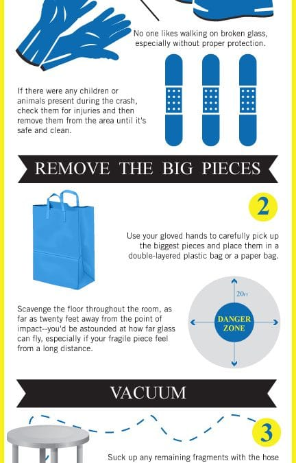 How To Clean Up Broken Glass