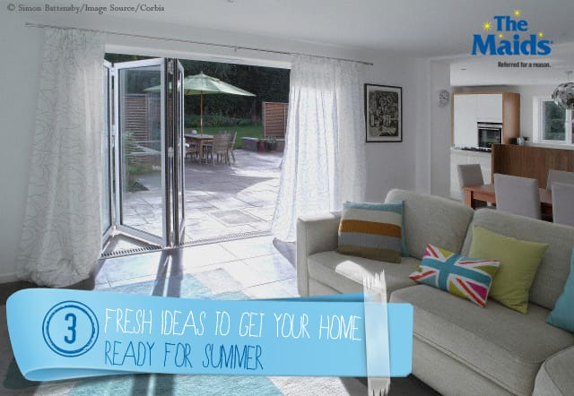 3 Fresh Ideas to Get Your Home Ready for Summer