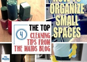 Top 4 Cleaning Tips from The Maids Blog