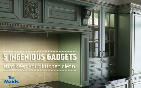 5 Ingenious Gadgets That Keep Your Kitchen Clean