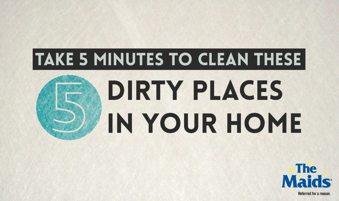 Tip #50-55: The 5 dirty places you are NOT cleaning in your home but should.
