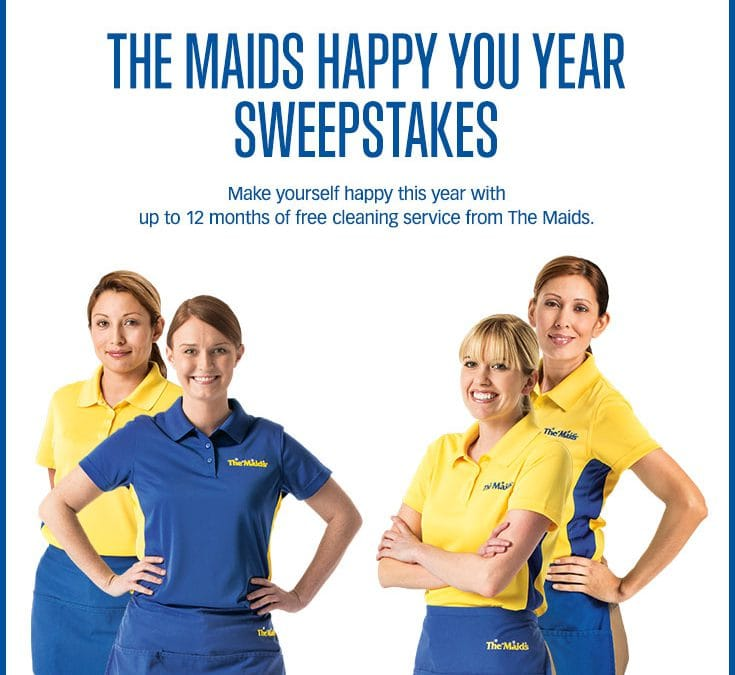 Happy You Year Sweepstakes: Keeping it Clean in 2014!