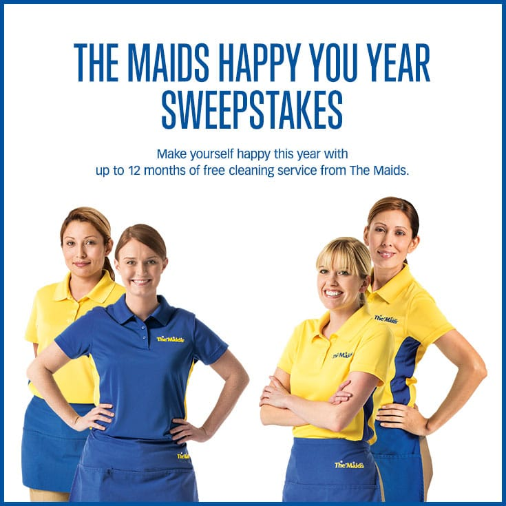 The Maids Happy You Year Sweepstakes