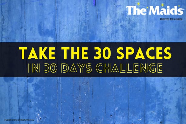 Take the 30 Spaces in 30 Days Challenge