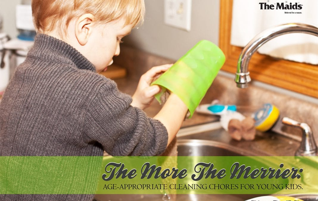 The More the Merrier: Age-appropriate cleaning chores for young kids.