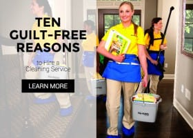 10 Guilt-Free Reasons to Hire a Cleaning Service