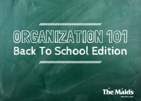 Organization 101: School Year's Resolutions