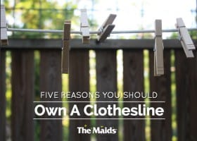 Five Reasons You Should Own a Clothesline