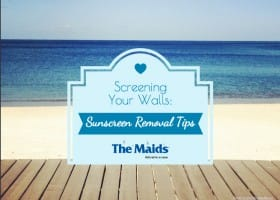 Screening Your Walls: Sunscreen Removal Tips