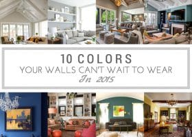 10 Colors Your Walls Can't Wait To Wear in 2015