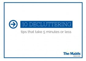 10 Decluttering Tips That Take 5 Minutes or Less