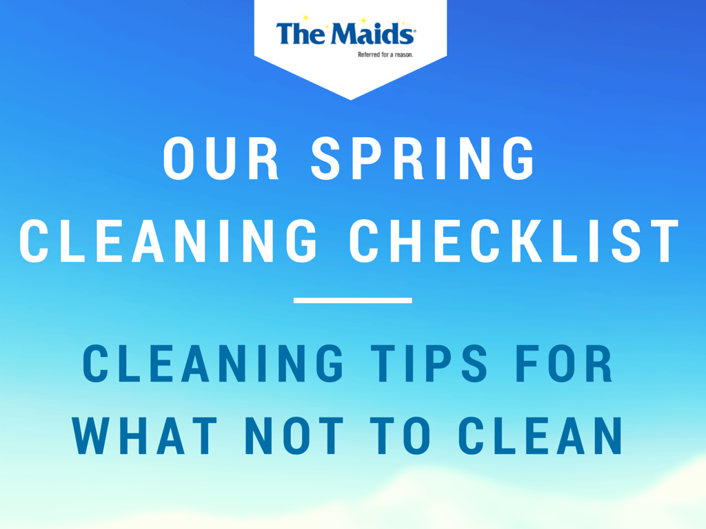 Our Spring Cleaning Checklist Cleaning