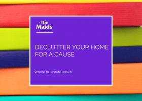 Declutter Your Home For a Cause: Where to Donate Books