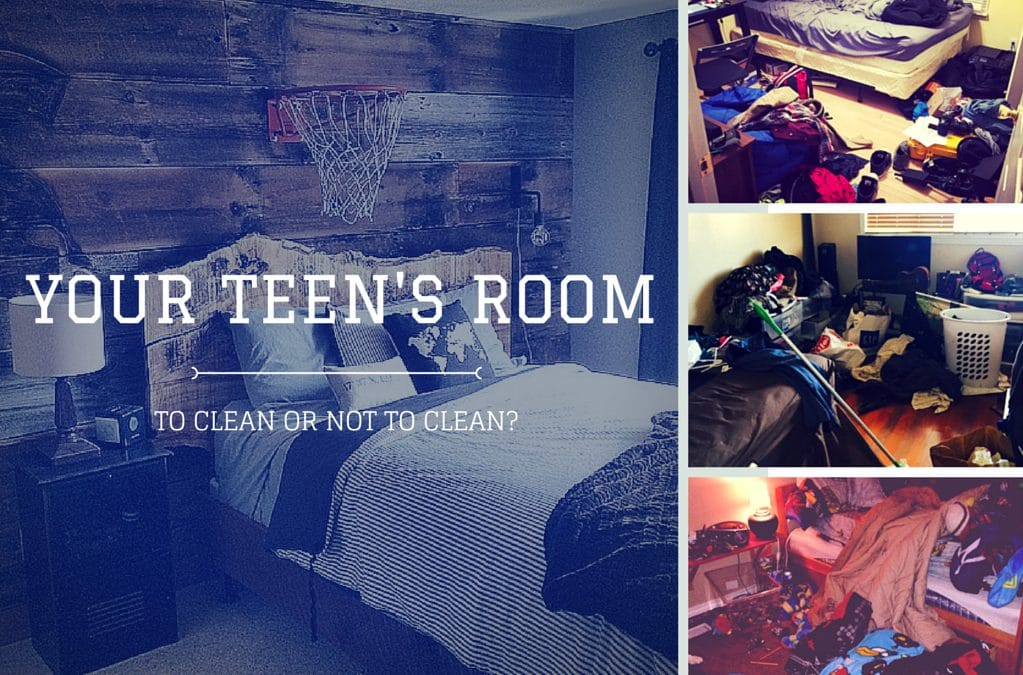 Your Teen's Bedroom: To Clean or Not to Clean?