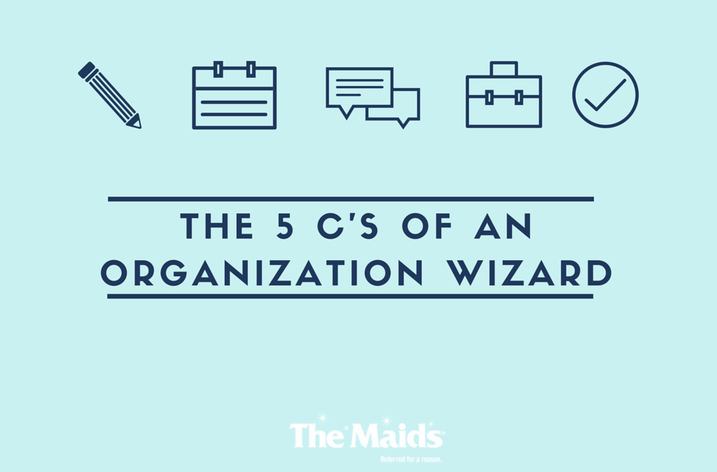 The 5 C's of an Organization Wizard
