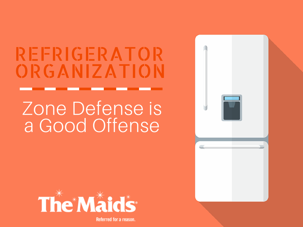 Refrigerator Organization: Zone Defense is a Good Offense