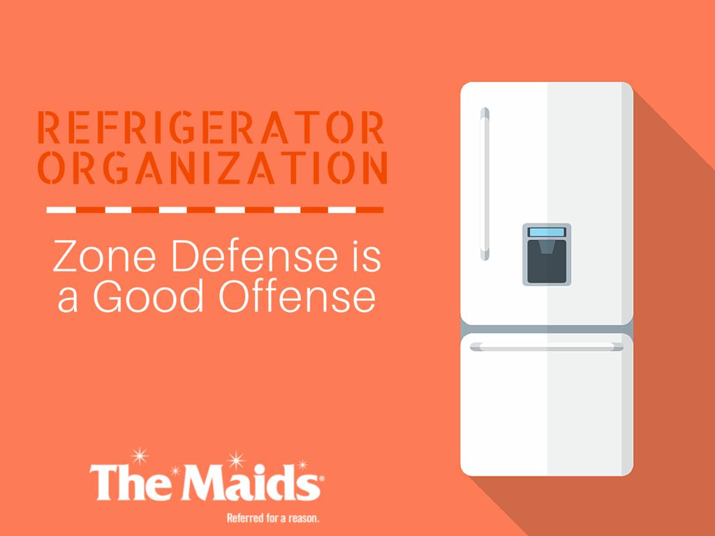 Refrigerator Organization: Zone Defense is a Good Offense