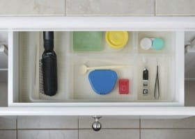 5 Ways to Organize a Small Bathroom