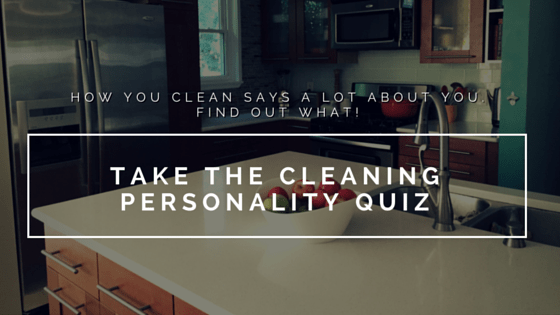 How You Clean Says A Lot About You. Find Out What.