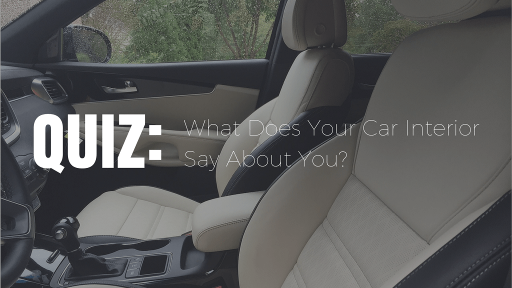 What does the inside of your car say about you? You may be surprised.