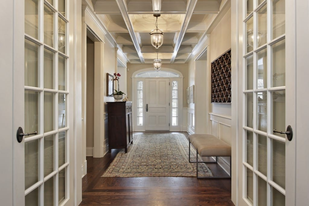 tips for cleaning entryway