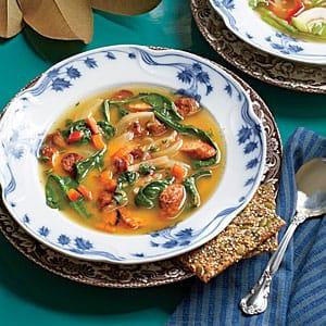 sausage sweet potato soup recipe