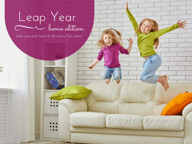 leap year cleaning list