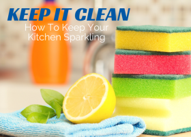 Keep It Clean: How To Keep Your Kitchen Sparkling Until Your Next Visit from The Maids