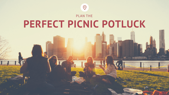 Plan the perfect picnic potluck the maids blog for Picnic food ideas for large groups