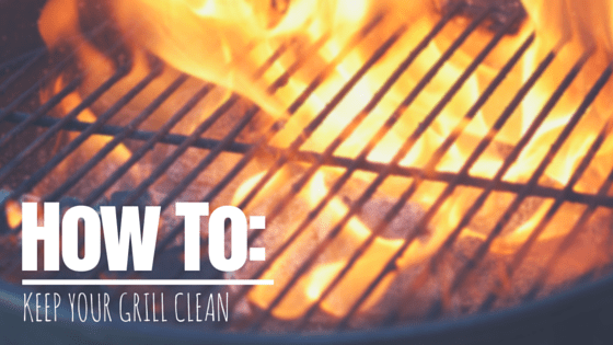 How To Keep Your Grill Clean