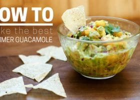 How to Make the Best Summer Guacamole [Caution: These images are SWEET]