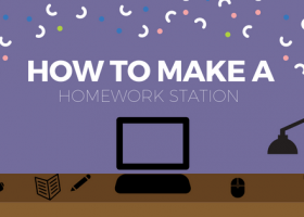 How To Make a Homework Station