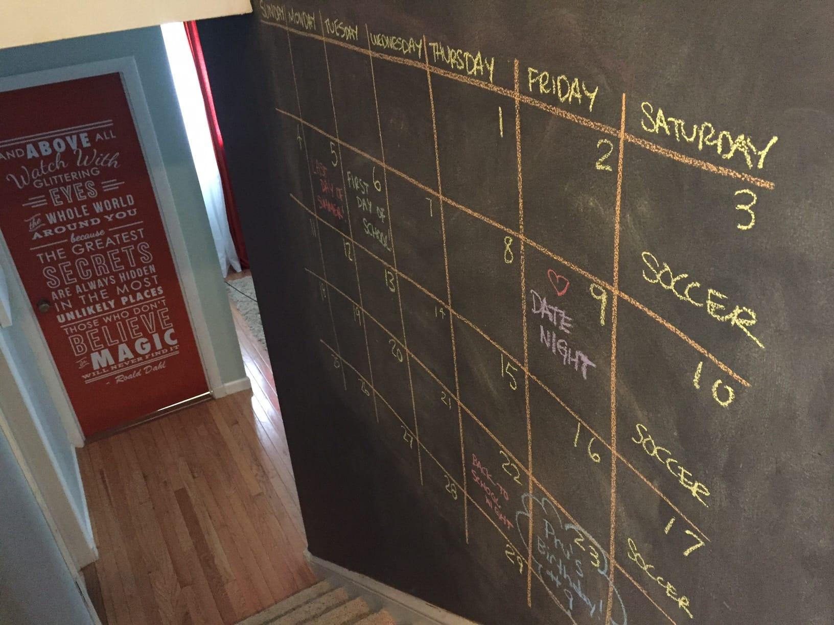 calendarwall