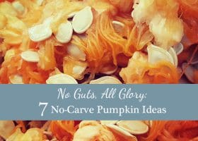 No Guts, All Glory: 7 No-Carve Pumpkin Ideas