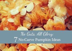 No Guts, All Glory: 7 No-Carve Pumpkin Ideas