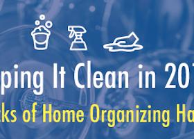 Keeping It Clean in 2017: 5 Packs of Organizing Hacks