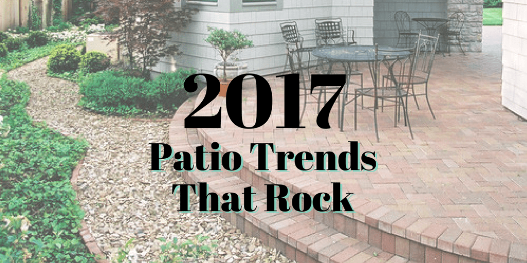 2017 Patio Trends That Rock | The Maids Blog