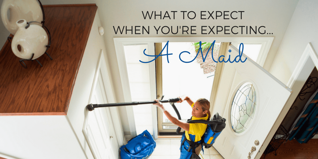 What To Expect When You're Expecting…A Maid