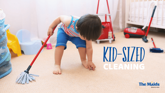 Kid-sized Cleaning: Can Pint-Sized Kiddos Be Taught To Clean?