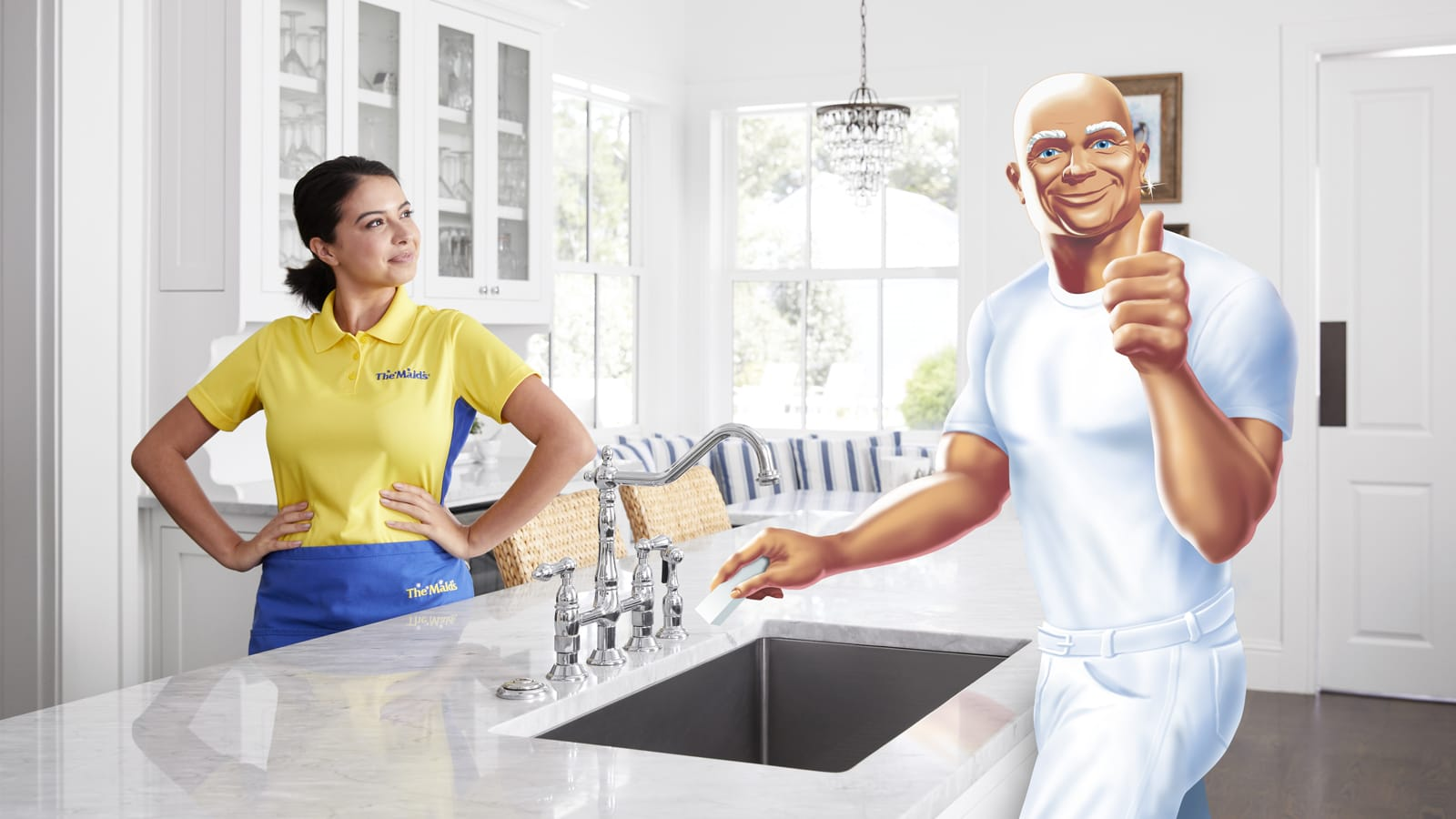 The Maids Partners With Mr. Clean