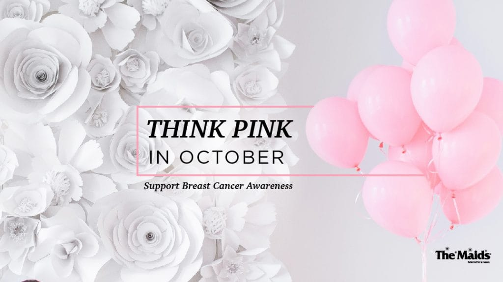 Think Pink In October: Support Breast Cancer Awareness