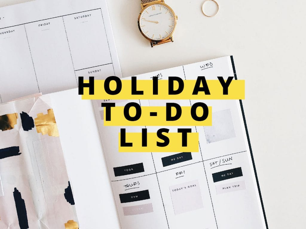 Cross Cleaning Off Your Holiday To-Do List