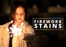 How to Remove Stains Left Behind from Fireworks