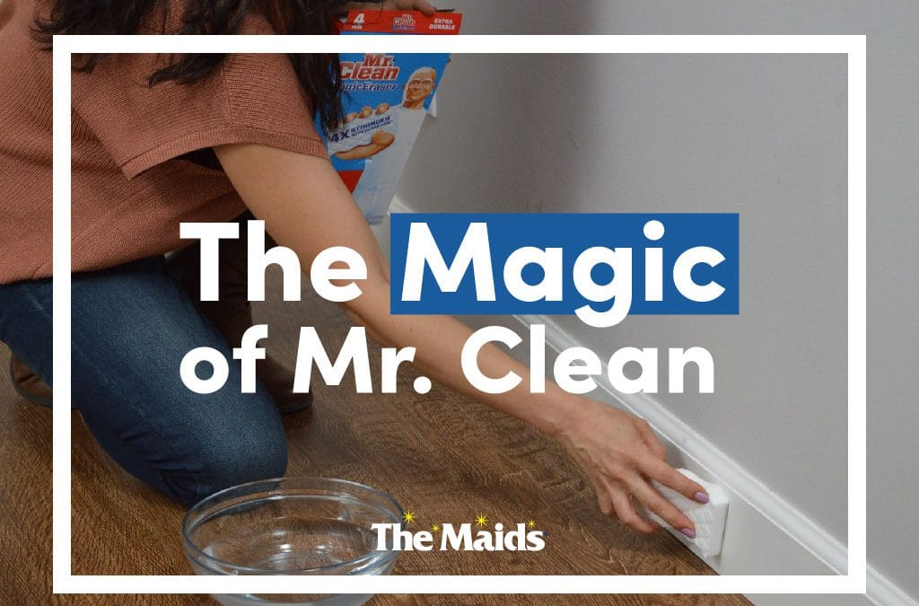 The Magic Of Mr. Clean: What Can't You Clean With Magic Erasers?