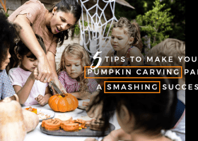 Tips To Make Your Pumpkin Carving Party A Smashing Success