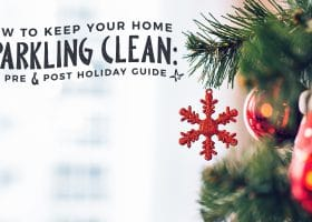 How to Keep your Home Sparkling Clean:APre andPost HolidayGuide