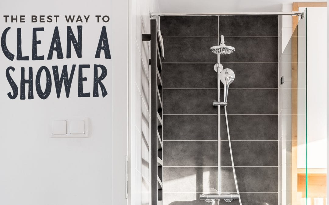 The Best Way to Clean a Shower